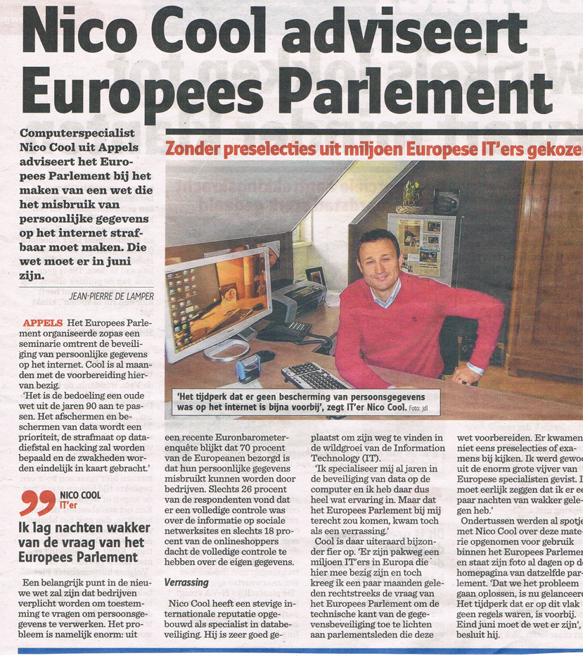 Advies Europees Parlement 2